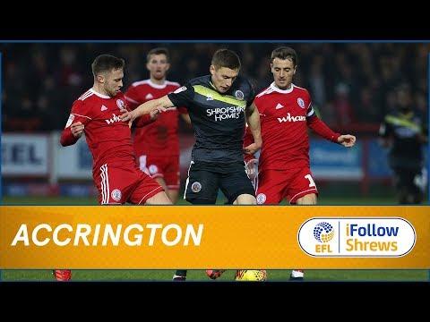 HIGHLIGHTS: Accrington Stanley 2 Shrewsbury Town 1