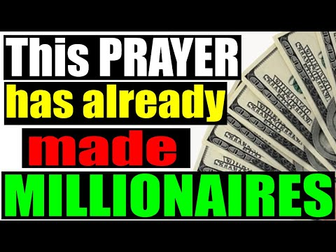 FINANCIAL FREEDOM, Breakthrough and MIRACLE Prayer, by Brother Carlos. Powerful Prayers