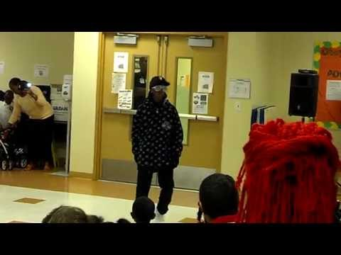 Malyk dances to dubstep at school talent show