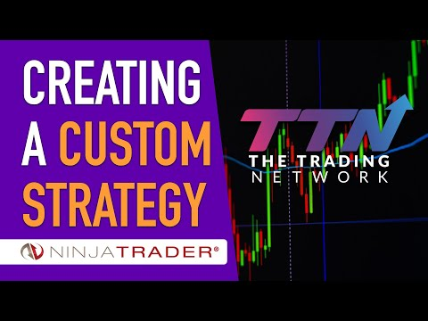 Creating a Custom Strategy in NinjaTrader 8 (EMA Cross)