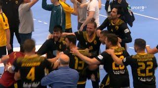RK Gorenje Velenje-AEK 31-31 Στιγμιότυπα HD 2ος Ημιτελικός EHF European Cup 24-04-2021