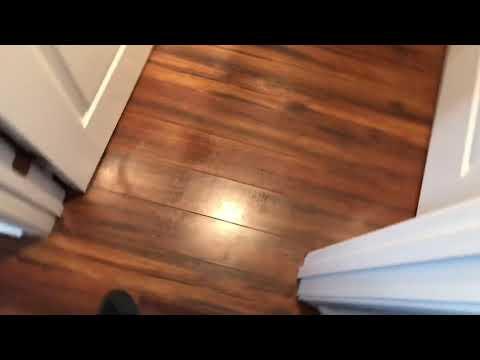 Laminate Floor Wax Removal and Polish