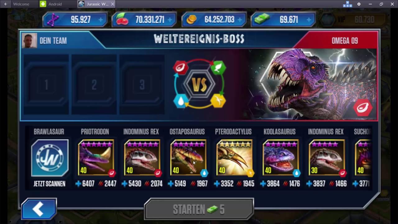 Lets Hack Jurassic World VIP Dino Pterodactylus Level 40