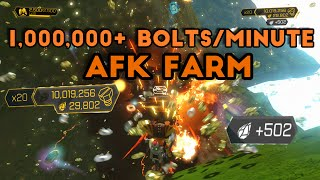 Ratchet & Clank (PS4) - afk farm unlimited bolts, raritanium, and holocards