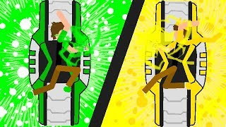 Ben 10 VS Light Ben (Stick Nodes PRO)