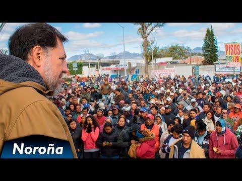 La Rebelión en Ixmiquilpan, Hidalgo - Mensaje de Fernández Noroña