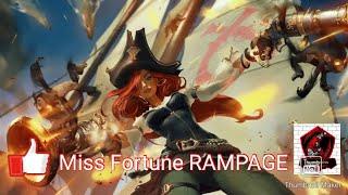 League Of Legends Wildrift Alpha Test Miss Fortune RAMPAGE Normal Mode
