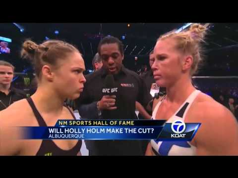 NM Sports Hall of Fame: Will Holly Holm make the cut?