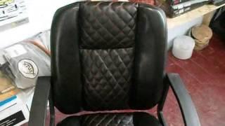 Ещё один вид наших услуг.Переделка офисного кресла.(Это видео покажит вам как переделать кресло, чтоб на этом заработать.Если интересует мы с радостью поделимс..., 2013-05-11T04:43:58.000Z)
