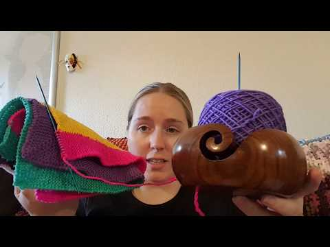 KATB ep 12 Knitting Notebook and Project Progress