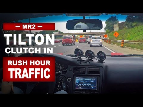 Driving In Rush Hour Traffic... With A Tilton Twin Plate Race Clutch