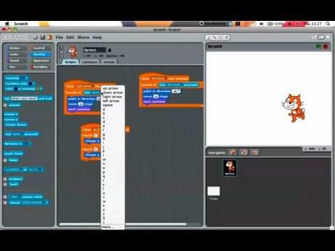Scratch Tutorials: 2 Advanced Movment and Jumping - YouTube