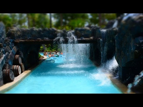 Four Seasons Orlando Resort at Walt Disney World Recreation Tour w/ Pools, Lazy River, Water Slides