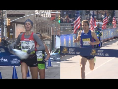 511daeaf47f SAUCONY Athletes Molly Huddle and Ben True wins major events - YouTube