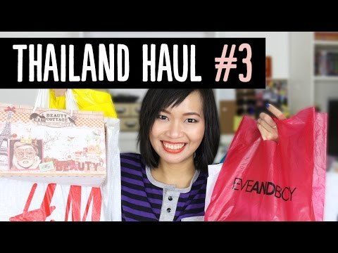 Thailand Beauty & Clothes Haul #3 - Eveandboy, H&M, XXI Forever, & More!~ | Pippopunkie