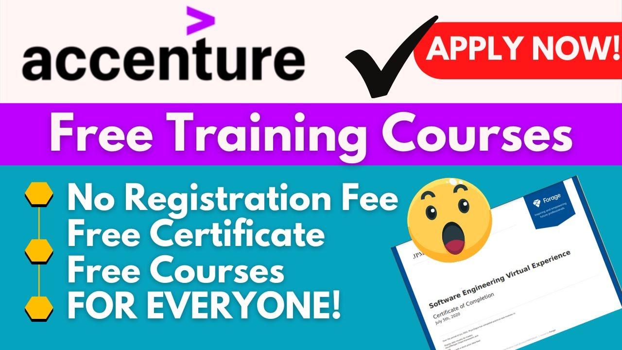 Accenture Digital Skills Certificate Courses