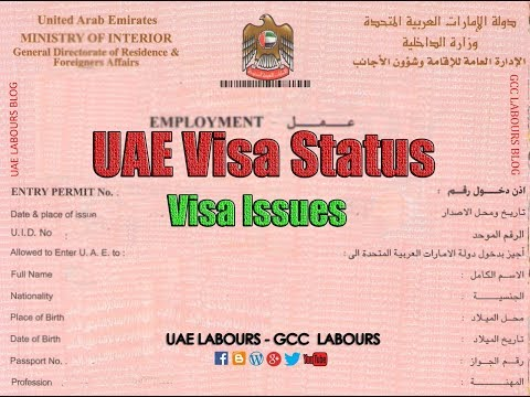 How To Check Your UAE Visa Status With Your Passport Number Only?