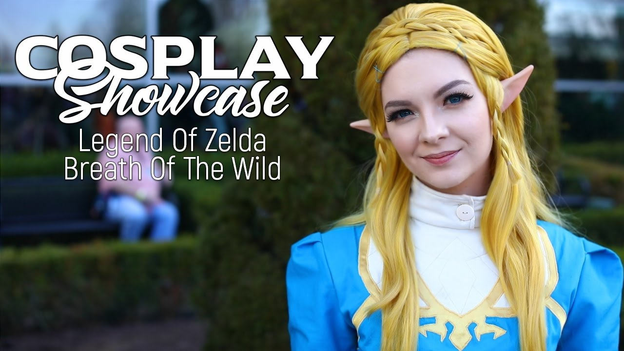 Cosplay Showcase Legend Of Zelda Breath Of The Wild Youtube