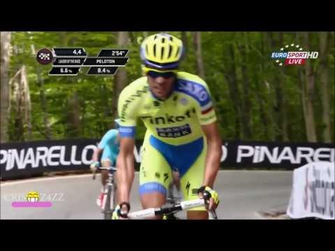 Alberto Contador best Attack
