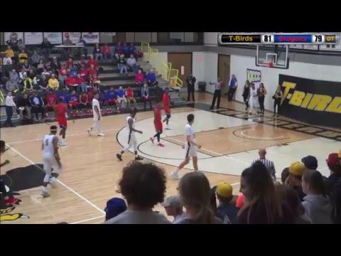 Blue Dragon Men's Basketball at Cloud County