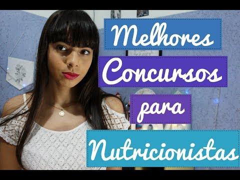 MELHORES CONCURSOS PARA NUTRICIONISTAS