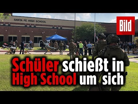 Acht Tote bei Schießerei an High School in Texas