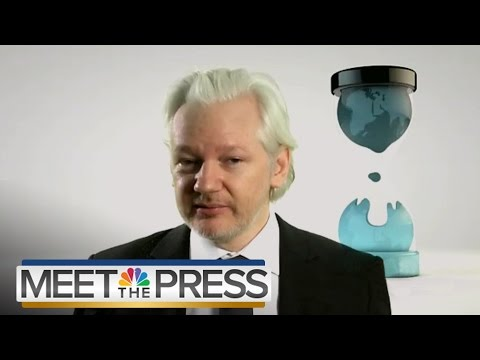 Julian Assange On DNC Emails And 2016 Election (Full Interview) | Meet The Press | NBC News