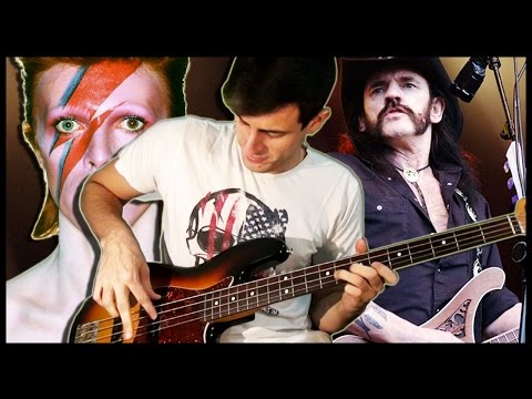 David Bowie Meets Lemmy & Meets Bass