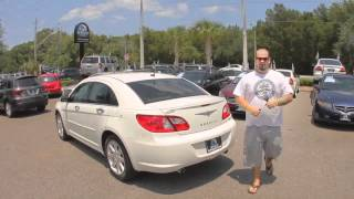 Autoline's 2007 Chrysler Sebring Sdn Limited Walk Around Review Test Drive