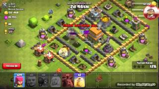 CLASH OF CLANS savas denemesi