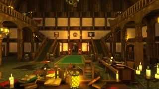 fantasy medieval interiors 3d