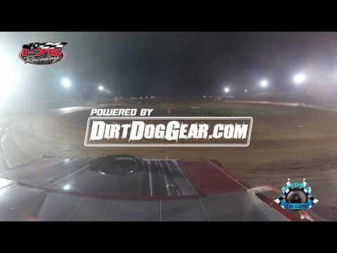 #T11 Tim Kilby - Winner - Street Stock - 7-22-17 I-75 Raceway - In Car Camera