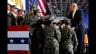 白宫要义(黄耀毅):特朗普称赞美国第七舰队巡航南中国海