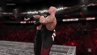 WWE 2K15-  Undertaker vs Kane Hell in a Cell Match (PS4)