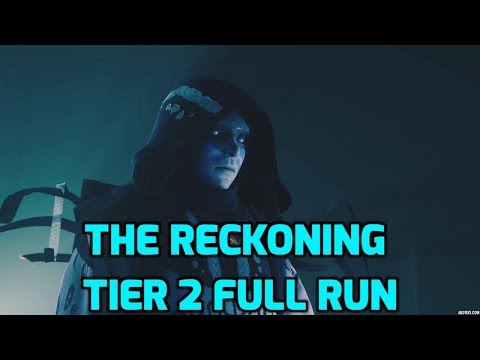 Destiny 2 - The Reckoning Tier 2 Full clear (Beware Spoilers, Guide up later) thumbnail