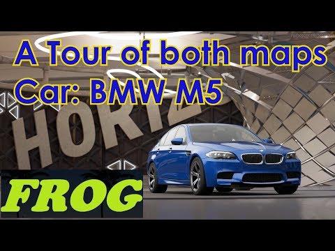 Forza Maps Tour BMW M5