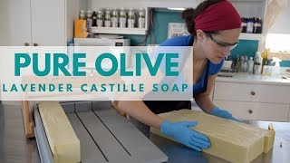Making Lavender Castille Soap