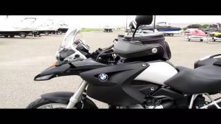2007 BMW R1200GS start up and walk around