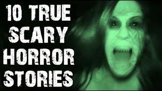 10 TRUE Disturbing Paranormal Horror Stories | (Scary Stories)