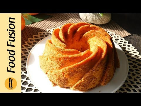 Orange Chiffon Cake Recipe By Food Recipes