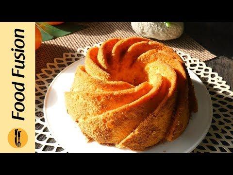 Orange Chiffon Cake Recipe By Food Recipes