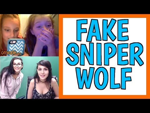 Thumbnail: PRETENDING TO BE SSSNIPERWOLF ON OMEGLE