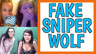 PRETENDING TO BE SSSNIPERWOLF ON OMEGLE