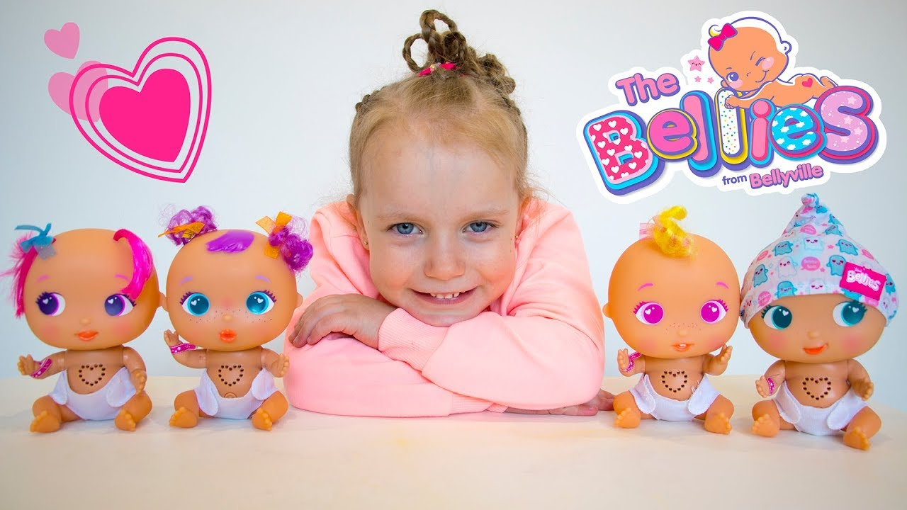 Gaby taking care of Babies | Baby Doll Toys