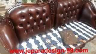 How To Upholster Sofa With Leather Upholstery