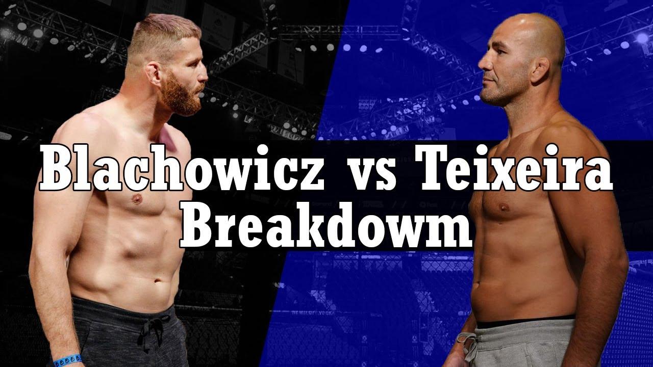 UFC 267 - Jan Blachowicz vs Glover Teixeira Breakdown - YouTube