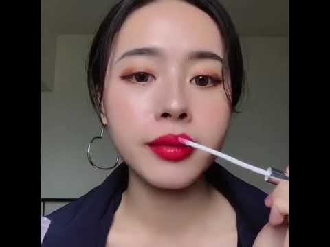 Citycolor X 花喜 - 絲絨幻彩唇釉&啾咪豐唇 試色