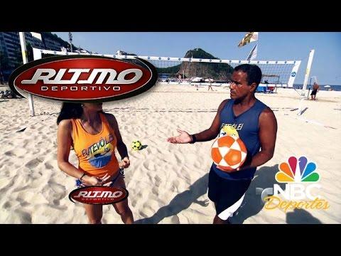 Futvóley en la playas de Brasil | Ritmo Deportivo | NBC Deportes