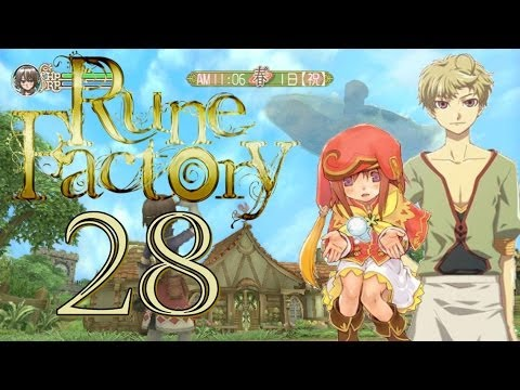 Let's Play Rune Factory Frontier Part 28 Tierliebe