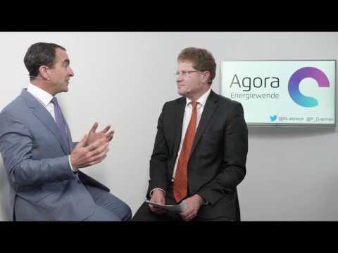 Patrick Graichen meets Michael Liebreich, Bloomberg New Energy Finance